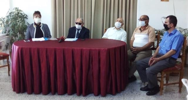 K.T Engelliler Federasyonu hafta dolayısıyla basın toplantısı düzenledi