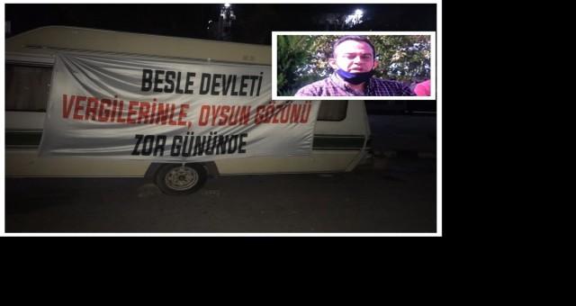 Açlık Çadırı Sağlık Bakanlığı'na taşınıyor