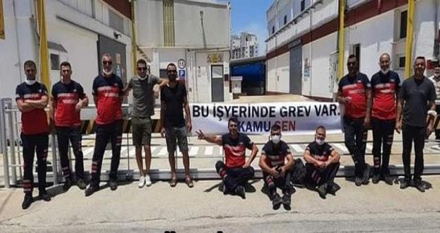 İsten çıkarılan 4 çalışan için Taşel çalışanları süresiz greve çıktı