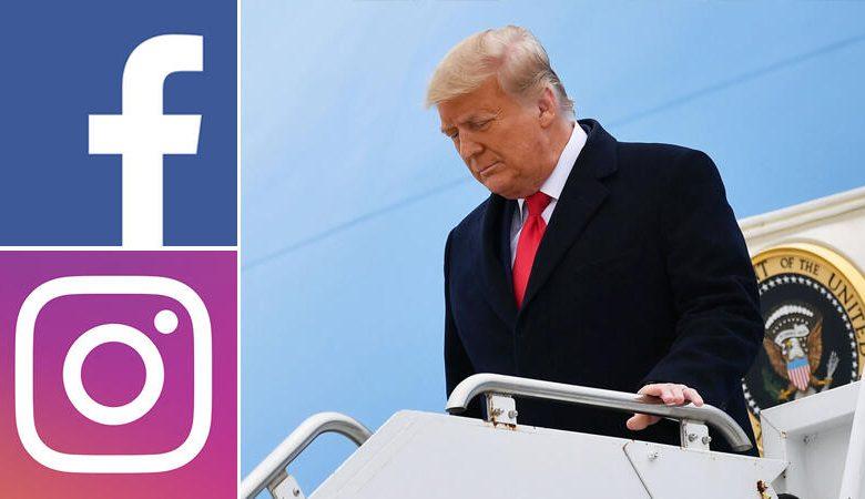Trump ve Facebook gerilimi yeniden yükseldi