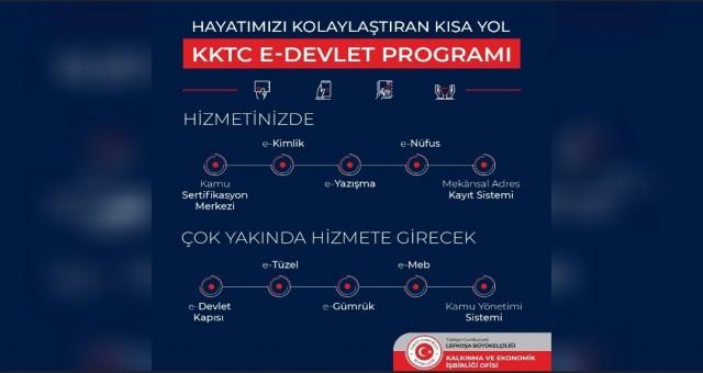 KKTC kamu kurumlarına Türkiye'den e-Devlet desteği