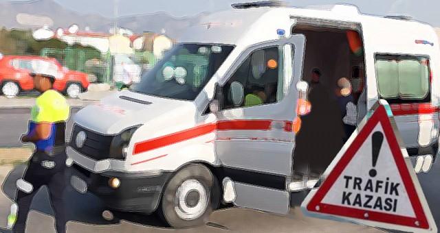 Girne'de korkunç kaza: 1'i ağır,  3 yaralı