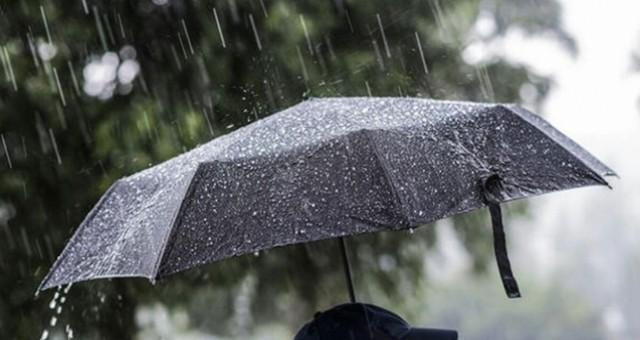 Üç gün boyunca yağmur var!