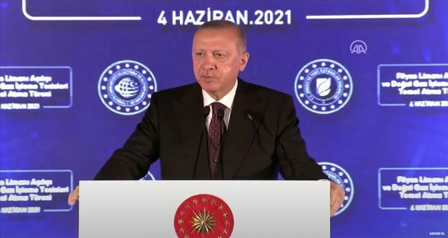 Erdoğan'dan müjde: 135 milyar metreküplük yeni doğal gaz rezervi bulundu