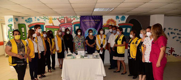 Lions Kulübü'nden Devlet Hastanesi Yeni Doğan Çocuk Servisi'ne bağış