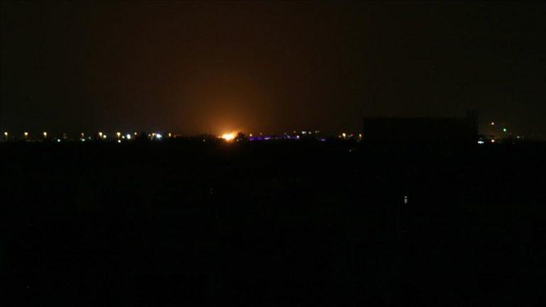 İsrail'in Suriye'ye saldırı düzenlediği iddia edildi