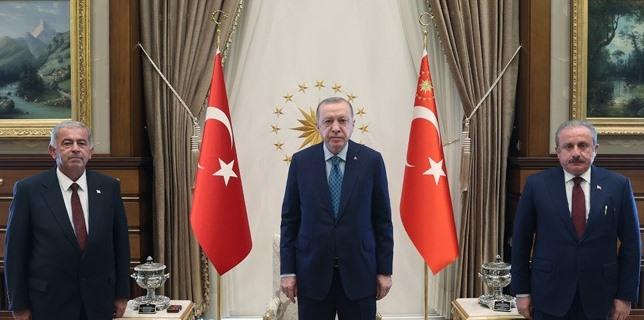 TC Cumhurbaşkanı Erdoğan, Sennaroğlu'nu kabul etti
