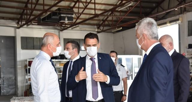 Ercan Havaalanı'nda E-gümrük pilot uygulaması başladı