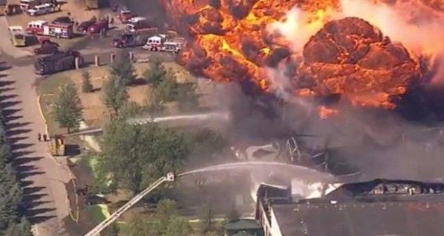ABD'de kimyasal madde üretilen tesiste patlama