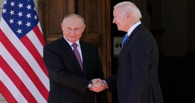 Rusya Devlet Başkanı Putin, ABD Başkanı Biden ile görüşmesini değerlendirdi
