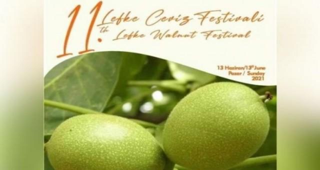 Lefke Ceviz Festivali Covid-19 önlemleri altında bugün yapılıyor