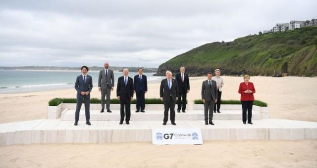 G7 Zirvesi sona erdi Nihai Bildiride 6 Başlık Öne Çıktı