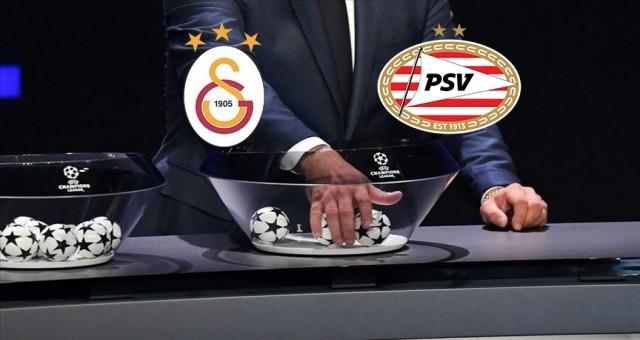 Galatasaray'ın rakibi PSV
