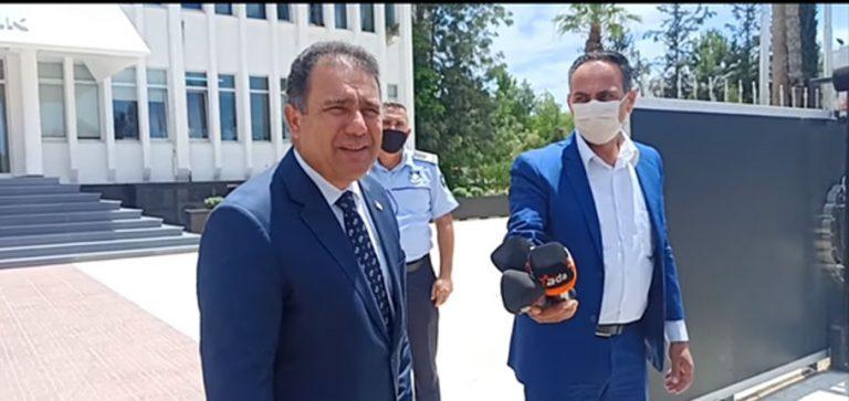 Başbakan Saner: Çağman istifa sunmadı