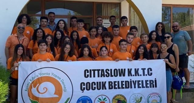 Kuzey Kıbrıs Cittaslow Ağı Karpaz Kampı 30 Çocuğun Katılımıyla Gerçekleştirildi