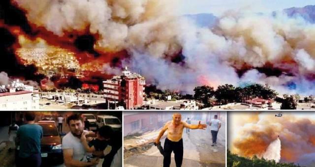 Yangınlarını PKK üstlendi