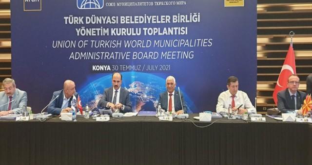 Belediyeler Birliği Başkanı Özçınar, Türk Dünyası Belediyeler Birliği Toplantısı'na katıldı