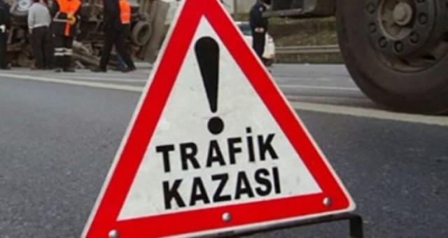 KKTC'de 1 haftada 65 trafik kazası meydana geldi