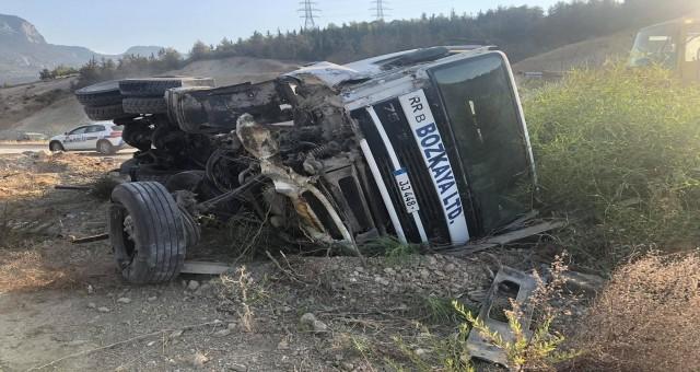 Girne Dağ Yolunda feci kaza!