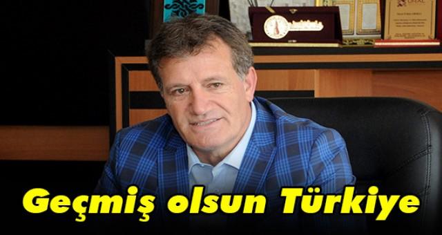 Arıklı: Geçmiş olsun Türkiye