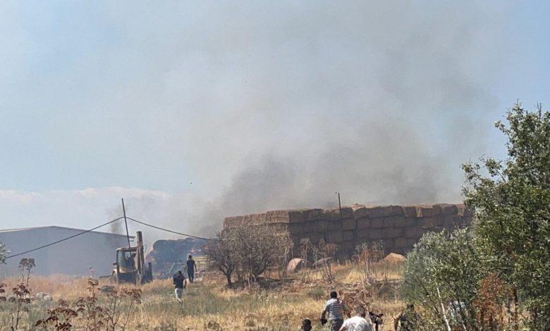 Ağırdağ'daki yangın kontrol altına alındı