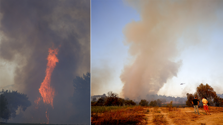 Kızılay Heyeti orman yangınlarıyla mücadeleye destek için Antalya'ya gidecek