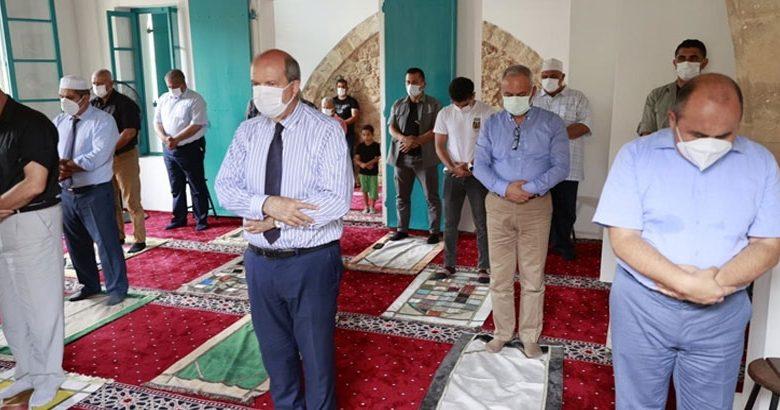 47 yıl sonra ibadete açılan Bilal Ağa Mescidi'nde ilk cuma namazı kılındı