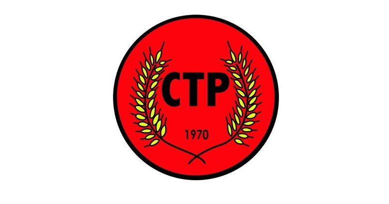 CTP: Uyarılar dikkate alınsın, çözüm zeminine geri dönülsün