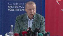 """Cumhurbaşkanı Erdoğan, yangın bölgesinde… """"Her türlü zararı karşılayacağız"""""""