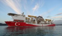 Fatih Karadeniz'de sondaja başladı