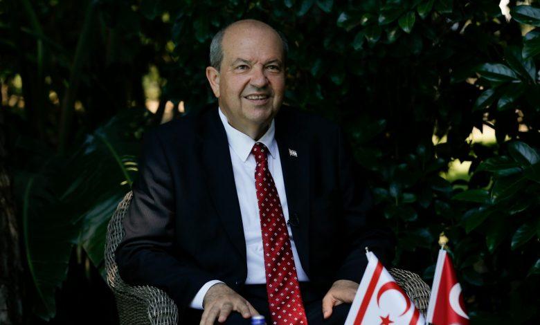 """""""Artık biz Kıbrıs'ta yeni siyaseti (iki devletli çözüm) savunuyoruz"""""""
