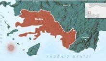 Ege Denizi'nde 5,5 büyüklüğünde deprem