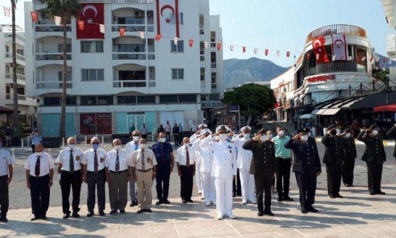 1 Ağustos Toplumsal Direniş Bayramı Girne'de de törenle kutlandı