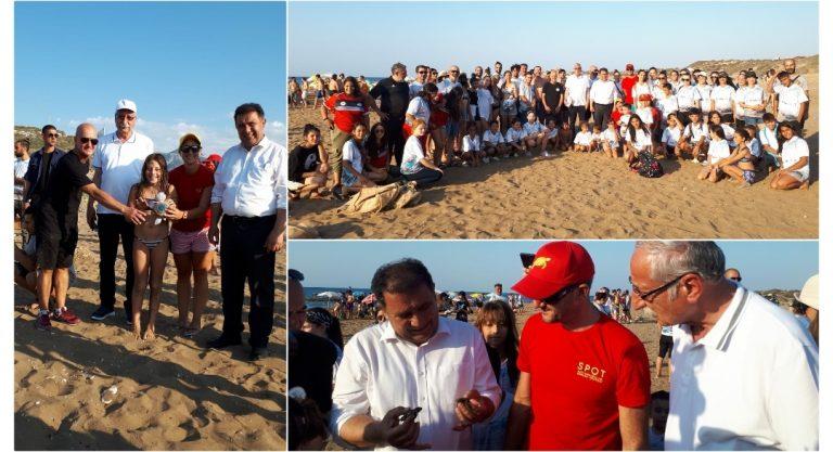 """""""Denizde Doğayı Hisset"""" etkinliğinin üçüncüsü Girne'de yapıldı"""