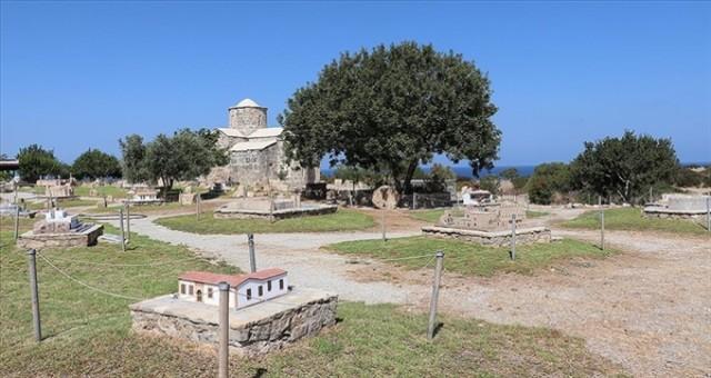 Kıbrıs'taki tarihi ve simge eserlerin minyatürleri Minia Kıbrıs Müzesi'nde sergileniyor