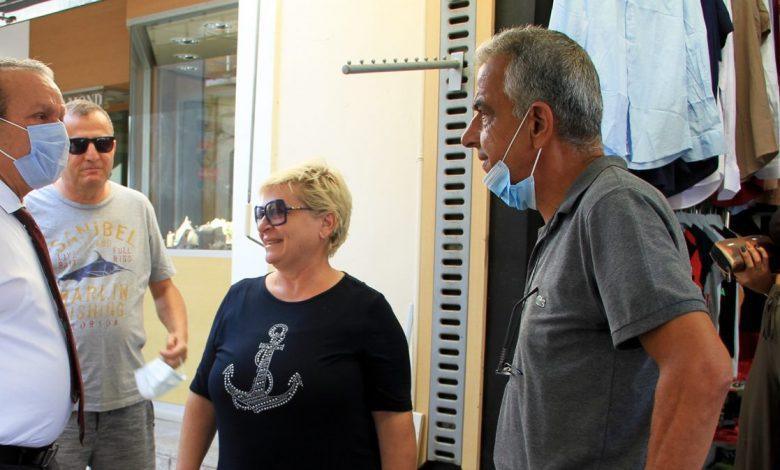 Ataoğlu, Mağusa ve Girne esnafını ziyaret etti, kış turizmi programını anlattı