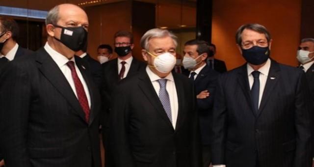 Cumhurbaşkanı Tatar, Guterres ve Anastasiadis ile bu akşam görüşüyor