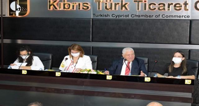 Kıbrıs Türk Ticaret Odası, 58. Olağan Genel Kurulu'nu gerçekleştirdi