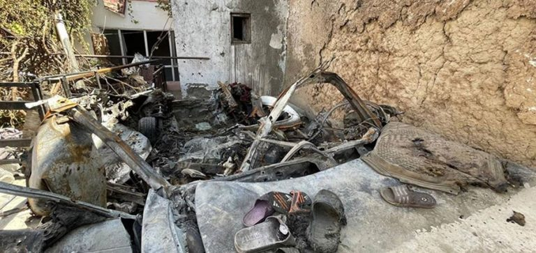 ABD ordusu ve istihbaratı Kabil'de 10 sivilin öldüğü saldırı konusunda birbirini suçladı