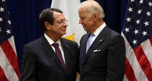 Biden, Anastasiadis'e Ranevu Vermedi