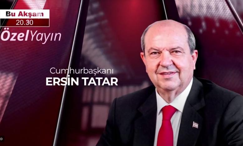 Cumhurbaşkanı Tatar, BRT'de gazetecilerin sorunlarını yanıtlayacak