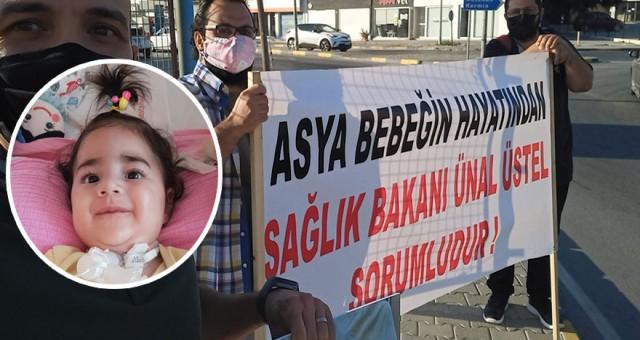 Asya'nın tedavisine Türkiye vatandaşı olmadığı için başlanamadı