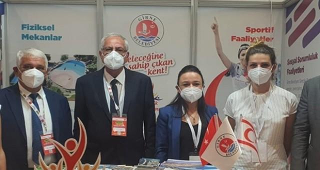 Girne Belediyesi, Ankara'da 'Genç Dostu Şehirler Kongre ve Sergisi'nde Stant Açtı