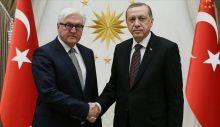 Erdoğan, Almanya Cumhurbaşkanı Steinmeier ile telefonda görüştü