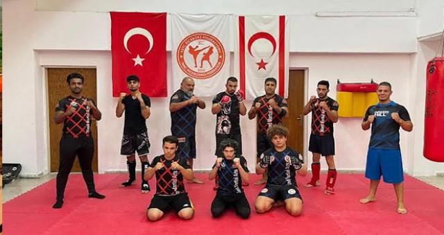 KKTC MMA takımı Avrupa şampiyonasına hazırlanıyor