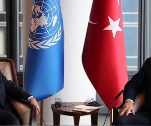 TC Cumhurbaşkanı Erdoğan, BM Genel Sekreteri Guterres'i kabul etti