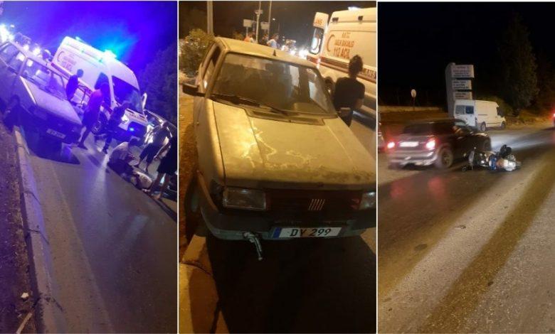 Lefkoşa'da korkutan kaza! 1 kişi yaralandı