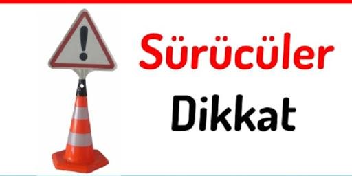 Çatalköy-Esentepe yolunu kullanacaklar dikkat!