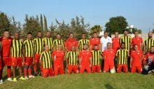 Meclis Futbol Takımı, Beyarmudu Master Takımı ile karşılaştı