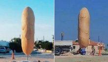 Patates heykeli güneyde gündem oldu
